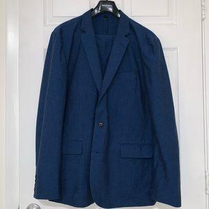 J.Crew Cotton/Linen Suit